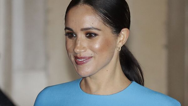 In this file photo dated Thursday, March 5, 2020, Britain's Meghan, the Duchess of Sussex leaves after attending the annual Endeavour Fund Awards in London.  - Sputnik International