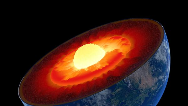 Composition of Earth's mantle revisited thanks to research at Argonne's Advanced Photon Source. - Sputnik International