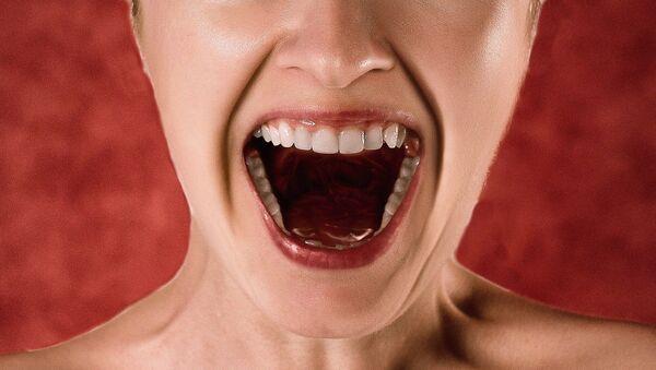 Woman screams - Sputnik International