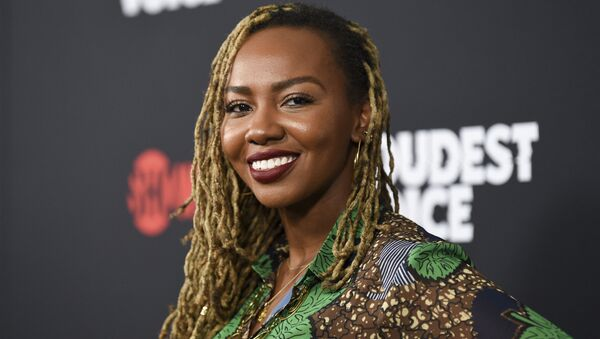 Black Lives Matter co-founder Opal Tometi attends the premiere of the ShowTime limited series The Loudest Voice at the Paris Theatre in New York. - Sputnik International