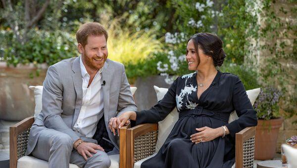 Meghan and Harry give interview to Oprah Winfrey - Sputnik International