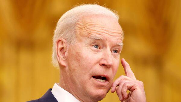 President Biden holds an event on International Women's Day at the White House in Washington - Sputnik International