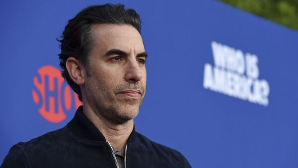 Sacha Baron Cohen, star of the Showtime series Who Is America?, poses before an Emmy For Your Consideration event for the show at Paramount Studios, Wednesday, May 15, 2019, in Los Angeles - Sputnik International