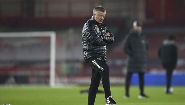 Sheffield United manager Chris Wilder, who was sacked on 12 March 2021 - Sputnik International