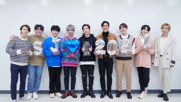 Super Junior Sets Party Mood in 2nd MV 'House Party' Teaser Ahead of Comeback - Sputnik International