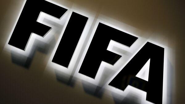 The FIFA logo outside FIFA headquarters in Zurich, Switzerland, Friday, Sept. 25, 2015.  - Sputnik International