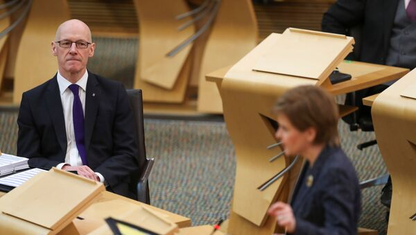 First Minister's Questions in Scottish Parliament - Sputnik International