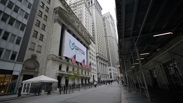 The New York Stock Exchange is seen, Wednesday, Oct. 28, 2020, in New York.  - Sputnik International