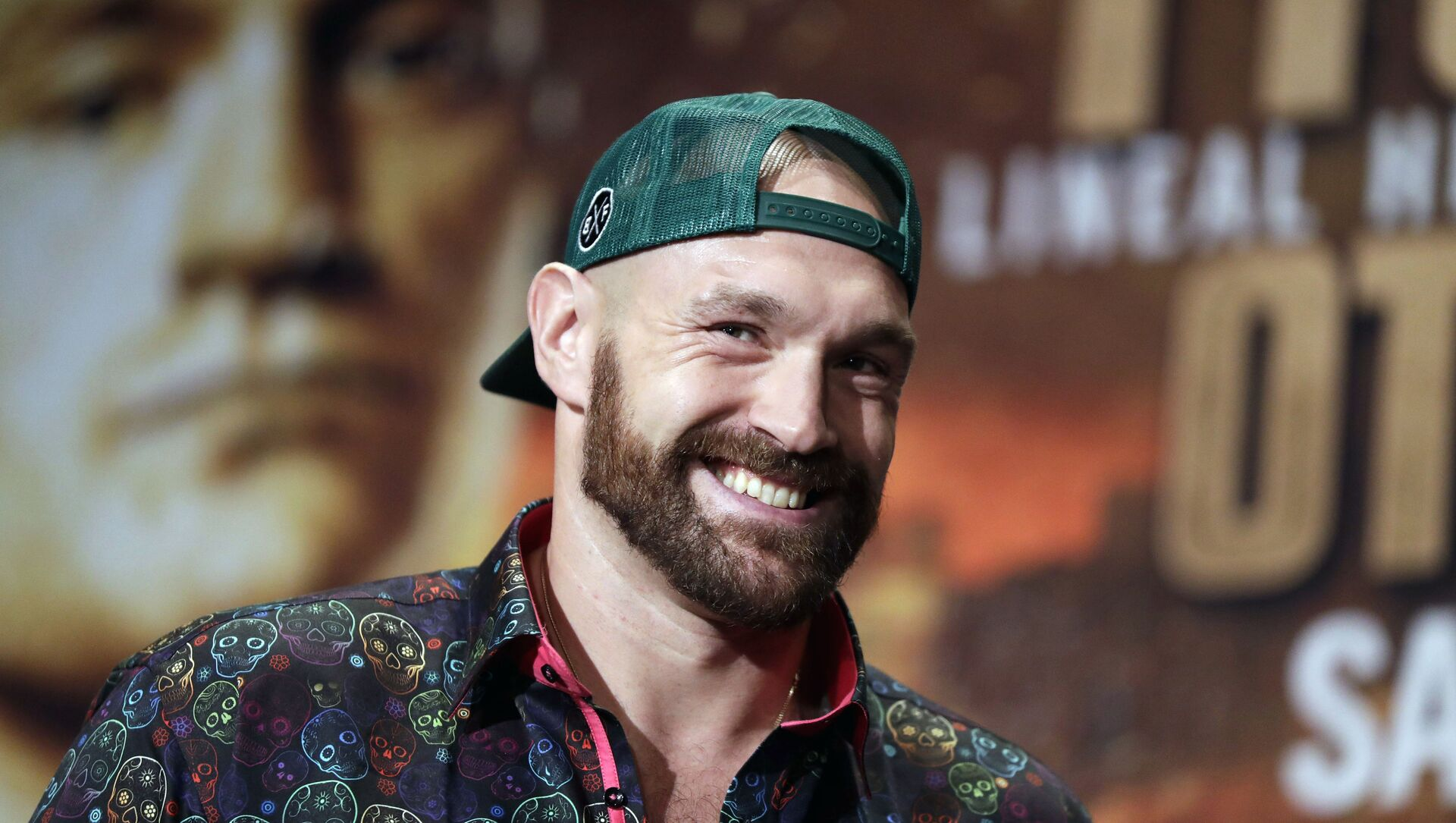 In this Sept. 11, 2019 file photo, Tyson Fury smiles during a press conference in Las Vegas. - Sputnik International, 1920, 02.08.2021