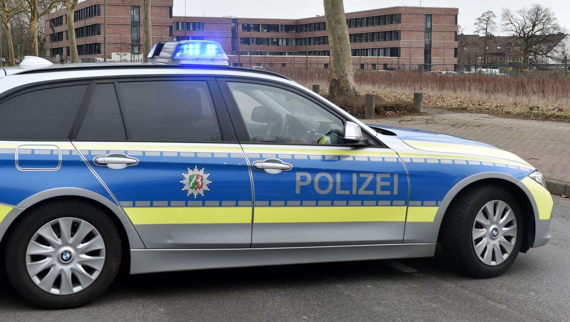 German police car  - Sputnik International, 1920, 30.07.2021