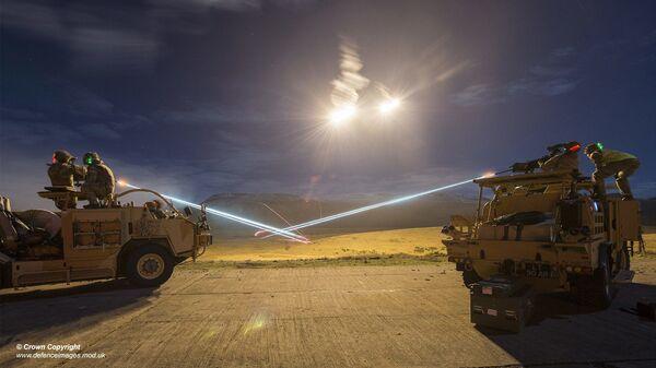 Light Dragoons Firepower on Warcop Ranges. - Sputnik International