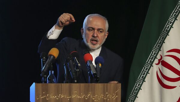 Iran's Foreign Minister Mohammad Javad Zarif addresses in a conference in Tehran, Iran, Tuesday, 23 February 2021 - Sputnik International