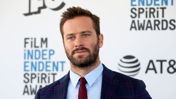 2019 Film Independent Spirit Awards - Arrivals - Santa Monica, California, US, 23 February 2019 - Armie Hammer - Sputnik International