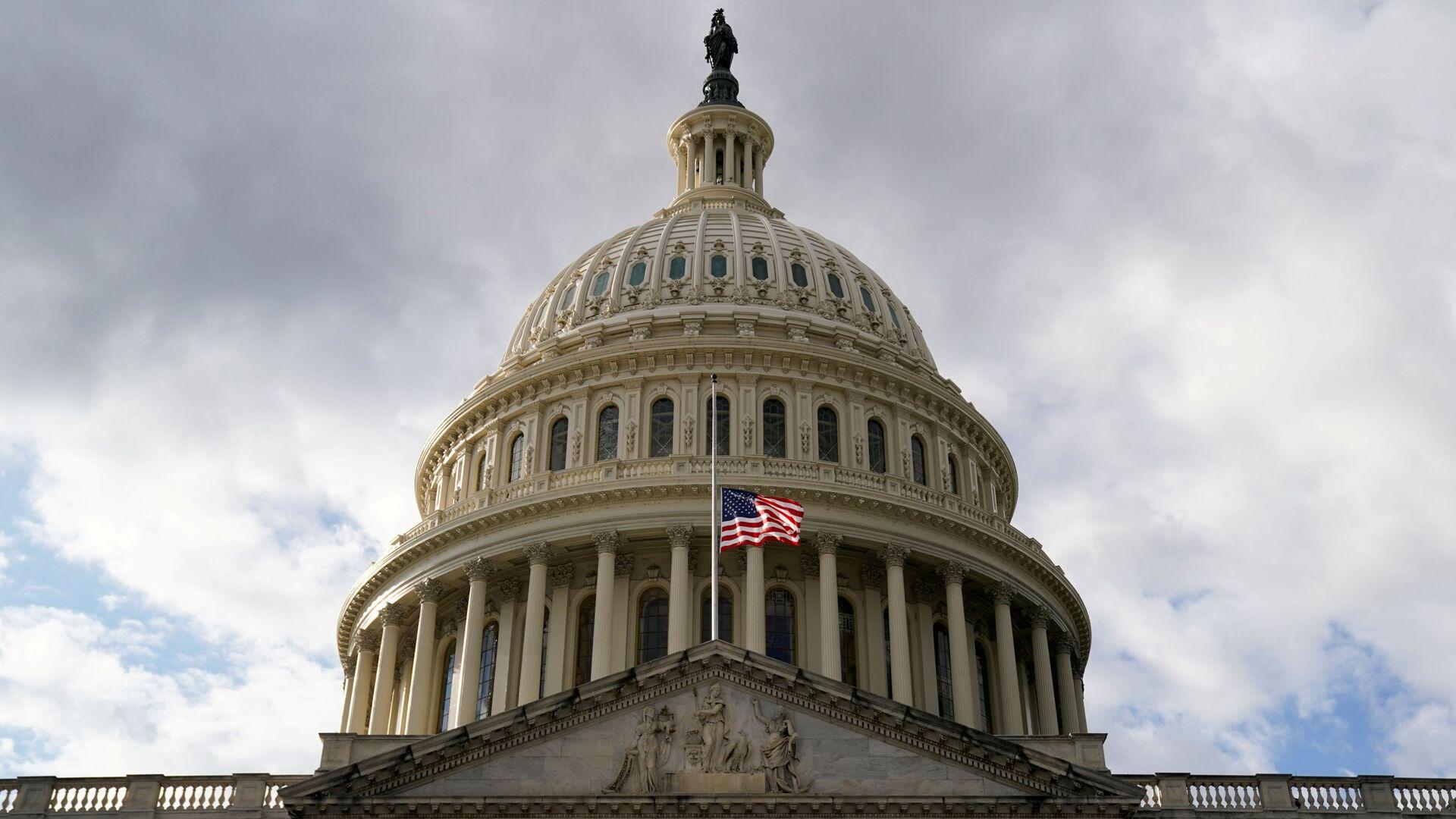 A view of the U.S. Capitol building in Washington DC, U.S. January 17, 2021. - Sputnik International, 1920, 20.09.2021