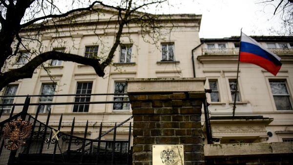 The building of the Russian embassy in London. - Sputnik International