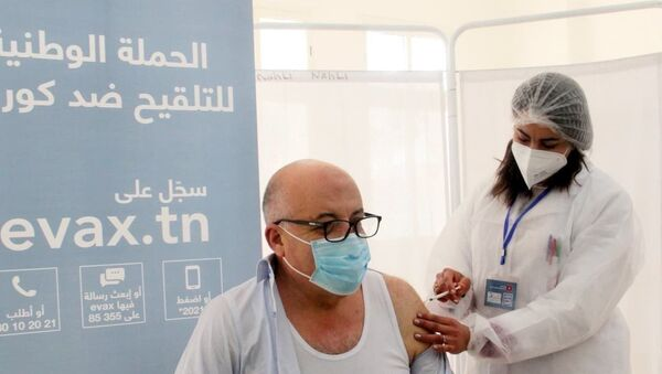 Tunisian Health Minister Faouzi Mehdi receives Russia's Sputnik V Vaccine - Sputnik International