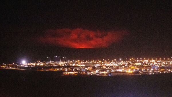 Volcanic eruption Reykjanes peninsula - Sputnik International