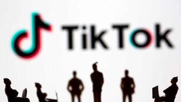 Illustration picture of TikTok logo - Sputnik International