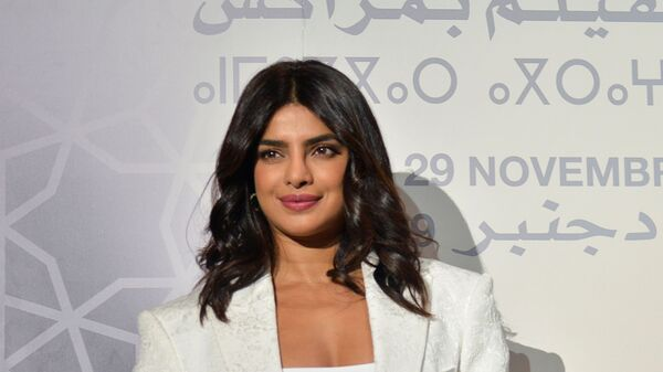 Priyanka Chopra attends the Conversation with section at the 18th edition of the Marrakech International Film Festival, Morocco December 5, 2019 - Sputnik International