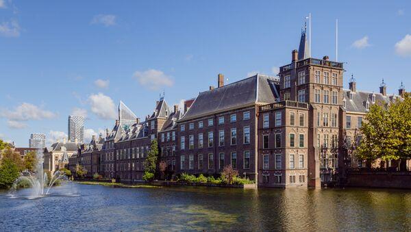 The Hague, The Netherlands: Binnenhof and Hofvijver - Sputnik International