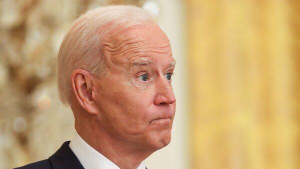 U.S. President Joe Biden holds news conference at the White House in Washington - Sputnik International