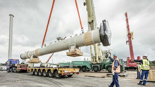 Work on Nord Stream 2 Pipeline. - Sputnik International