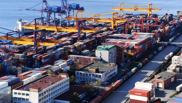 Vladivostok Commercial Port. File photo. - Sputnik International
