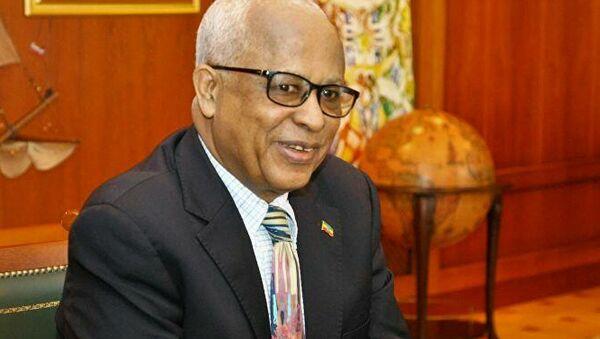 Ethiopian Ambassador to Russia Alemayehu Tegenu Aargau - Sputnik International