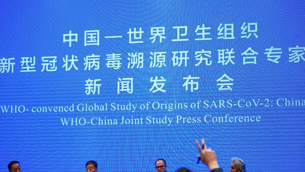 Peter Ben Embarek, a member of the World Health Organization (WHO) team tasked with investigating the origins of the coronavirus disease (COVID-19), attends the WHO-China joint study news conference at a hotel in Wuhan, Hubei province, China February 9, 2021.  - Sputnik International
