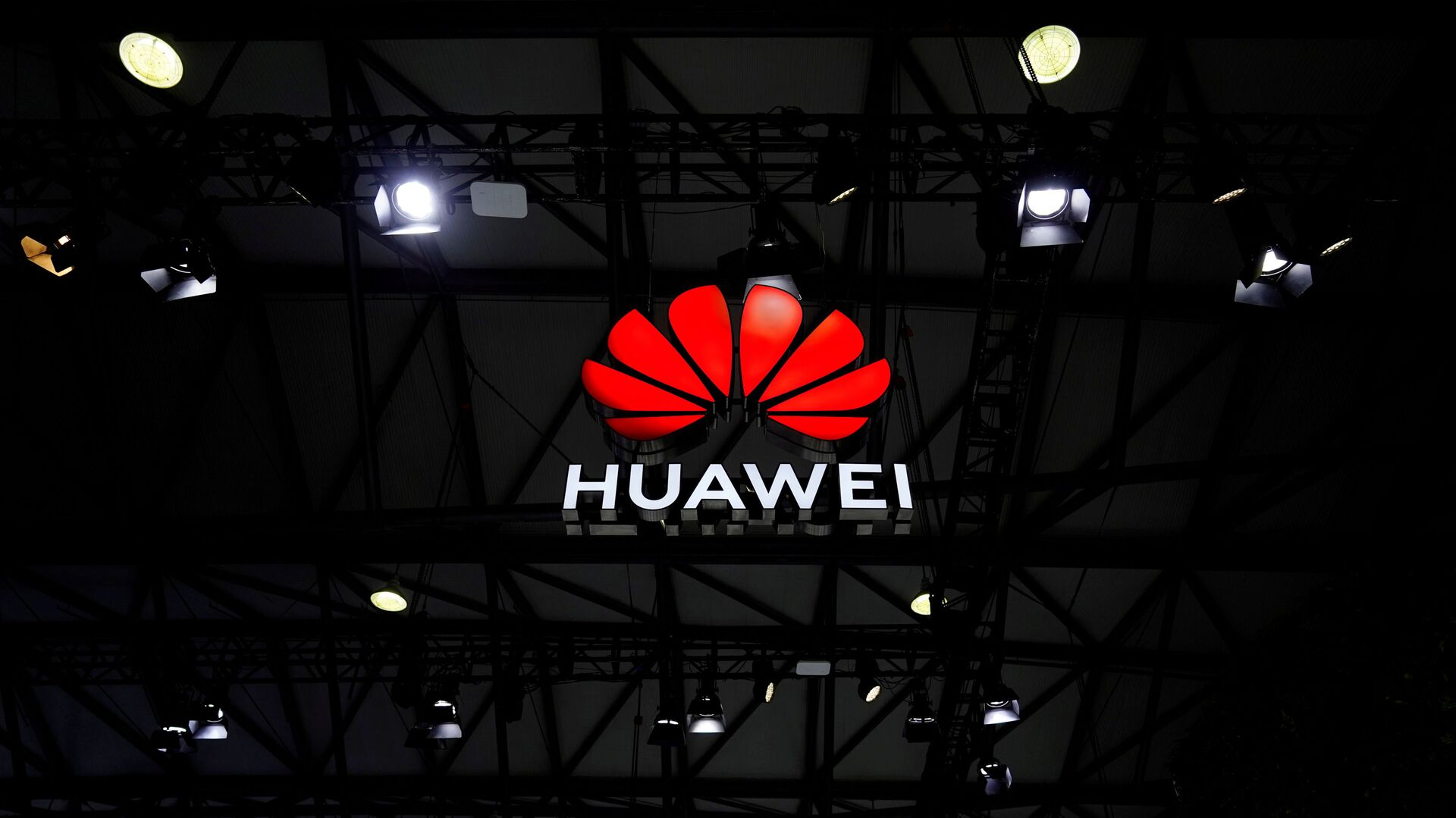 A Huawei logo is seen at the Mobile World Congress (MWC) in Shanghai, China February 23, 2021 - Sputnik International, 1920, 28.07.2021