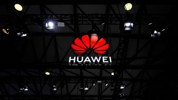 A Huawei logo is seen at the Mobile World Congress (MWC) in Shanghai, China February 23, 2021 - Sputnik International