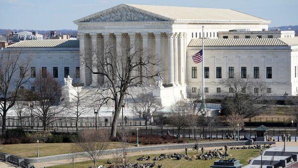 A view of the Supreme Court in Washington, U.S. January 19, 2021 - Sputnik International