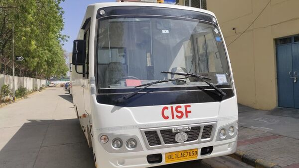 India's Central Industrial Security Force's (CISF) bomb detection and disposal squad (BDDS) gets a fully equipped van - Sputnik International