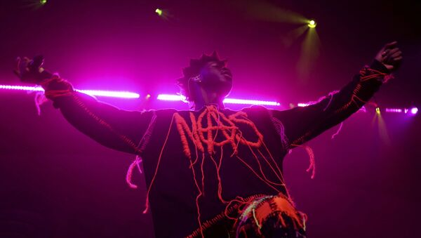 Lil Nas X performs live on stage at the 2020 Spotify Best New Artist Party at The Lot Studios on Thursday, Jan. 23, 2020, in West Hollywood, Calif - Sputnik International