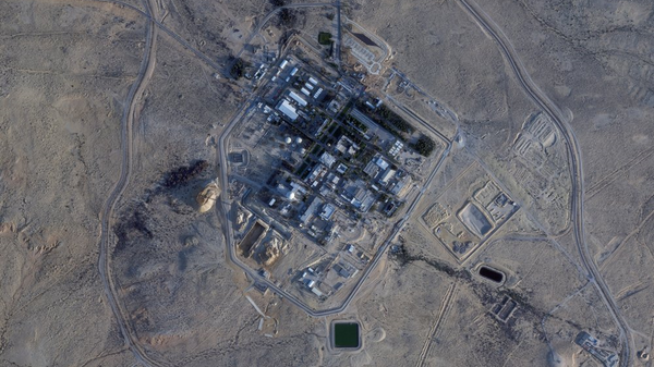 Detailed satellite image of Israel's Dimona nuclear facility as it undergoes an apparent upgrade. - Sputnik International