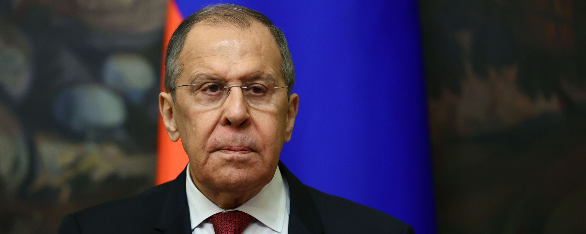 Russia's Foreign Minister Sergei Lavrov attends a meeting with his counterpart from Turkmenistan Rashid Meredov in Moscow, Russia April 1, 2021. - Sputnik International, 1920, 10.09.2021