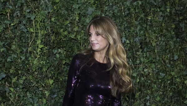 Jemima Goldsmith poses for photographers upon arrival at the Charles Finch and Chanel pre Bafta party in London, Saturday, Feb. 17, 2018. - Sputnik International