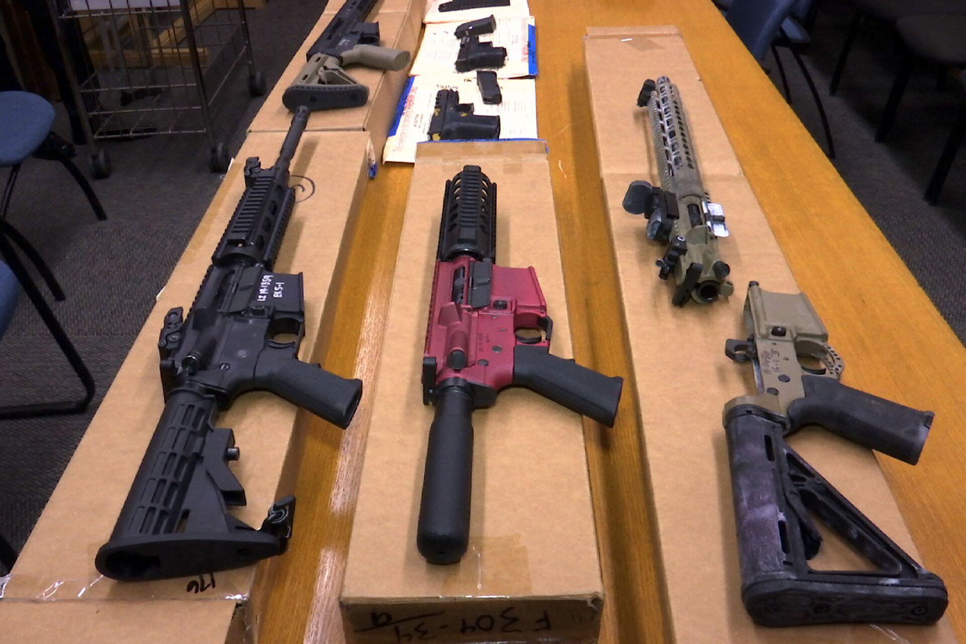 Biden Calls for Ending Legal Immunity for Gun Manufacturers - Sputnik International, 1920, 08.04.2021