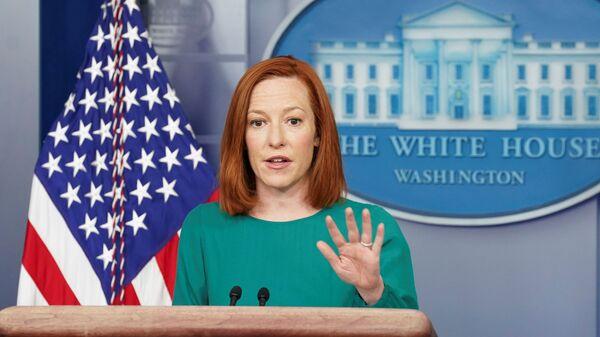 FILE PHOTO: Jen Psaki speaks at the White House in Washington - Sputnik International