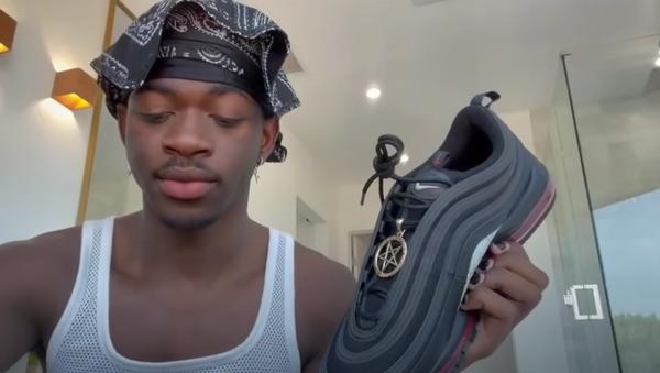 Lil Nas X Apologizes for Satan Shoe - Sputnik International