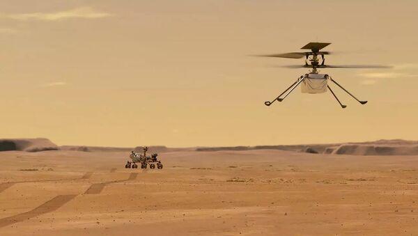 Mars Helicopter Ingenuity - Sputnik International