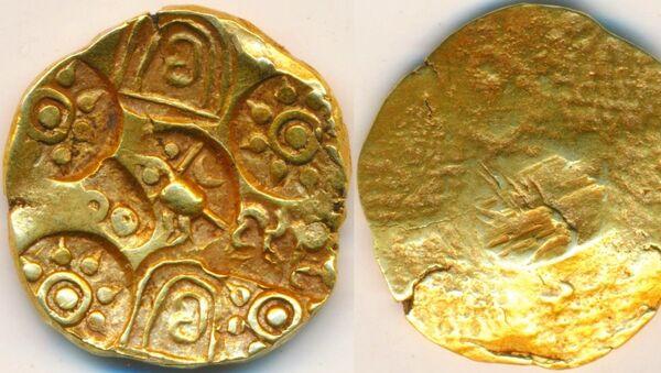 Kakatiya Dynasty's Gold Coin - Sputnik International