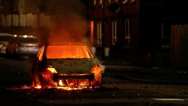 Protests in Belfast - Sputnik International