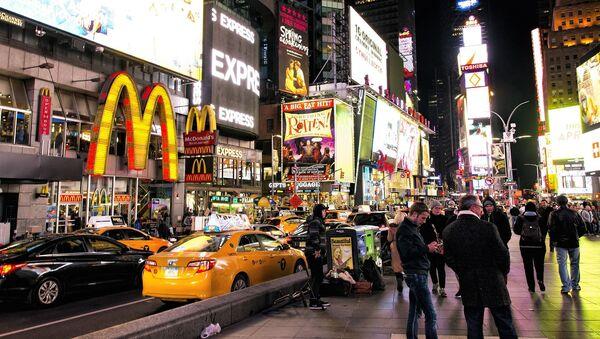 Times Square, NYC - Sputnik International