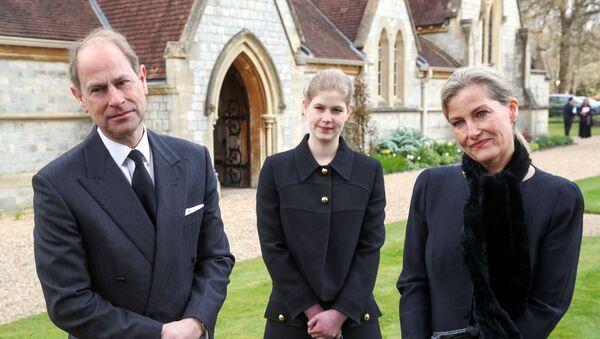Sunday service at Royal Chapel of All Saints, Windsor Great Park, following Prince Philip's death - Sputnik International