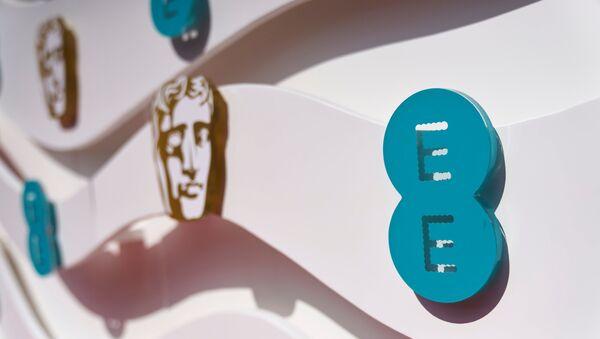 Logo of BAFTA Awards is seen during 74th British Academy Film Awards in London, Britain, 11 April 2021. - Sputnik International