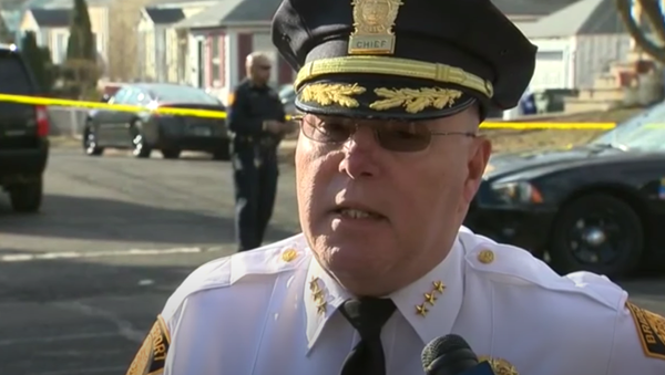 Bridgeport Police Chief Armando Perez updates the media on the search for Ailyn Hernandez - Sputnik International