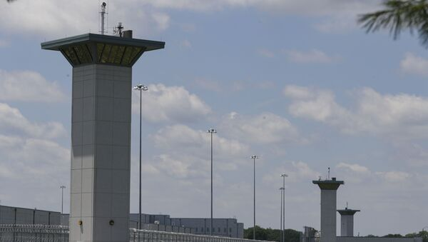 In this July 17, 2020 file photo the federal prison complex in Terre Haute, Ind., is shown. - Sputnik International