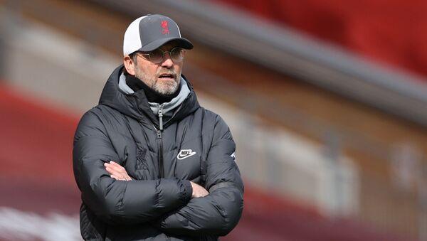 10 April 2021 Liverpool manager Juergen Klopp  - Sputnik International