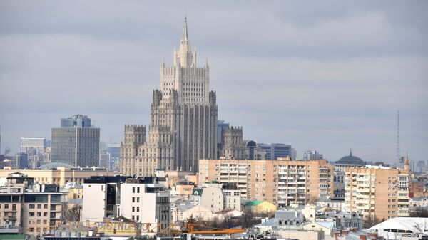 The building of the Ministry of Foreign Affairs of the Russian Federation in Moscow. - Sputnik International